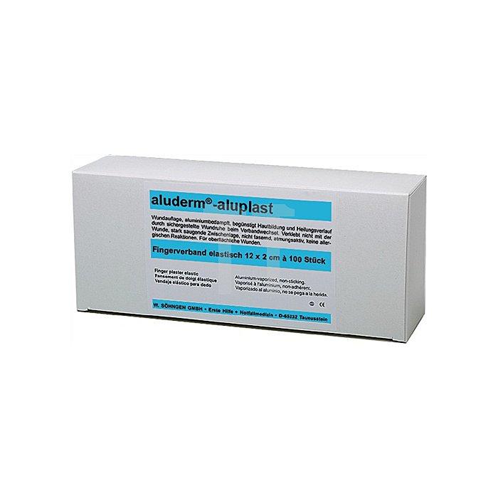Pflaster aluderm-aluplast 12x2cm SÖHNGEN 100Stck hygien.eingesiegelt