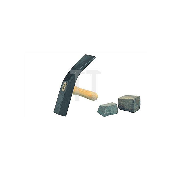 Pflasterhammer 1500g Berliner Form m.Hickorystiel