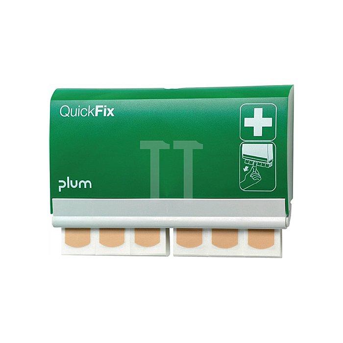 Pflasterspender QuickFix m.45 Pflastern PLUM