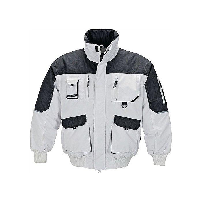 Pilotenjacke Gr.XL weiss-grau 65% Polyester/35% Baumwolle,280g/m²,