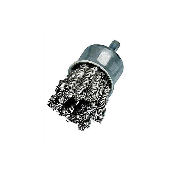 Pinselbürste D.20mm Draht-D.0,35mm Stahl