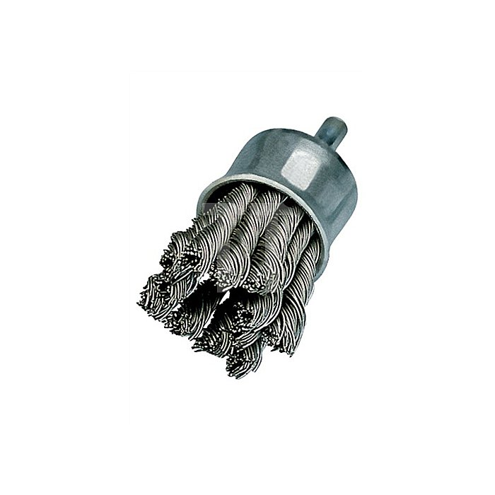 Pinselbürste D.23mm Draht-D.0,26mm V2A