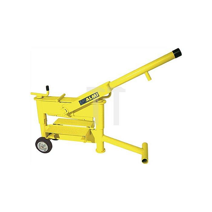 Plattenschneider AL 43 Schnittbreite 430mm Gewicht 57kg Schnitthöhe 10-120mm