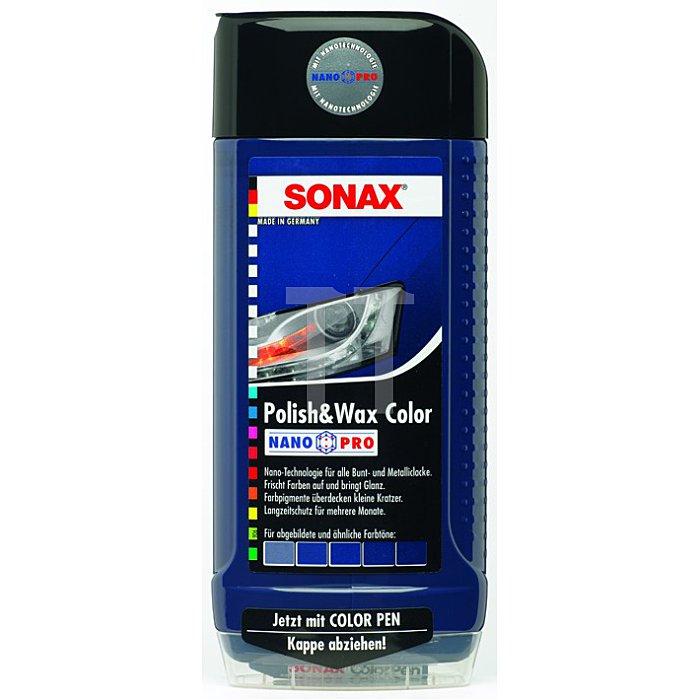 Polish & Wax Color NanoPro blau Wachs 500 ml