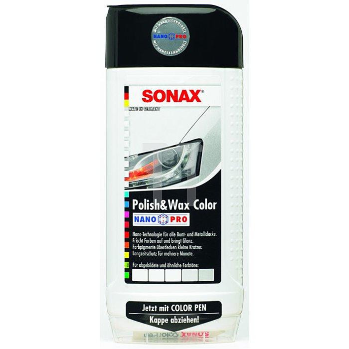 Polish & Wax Color NanoPro weiß 500 ml