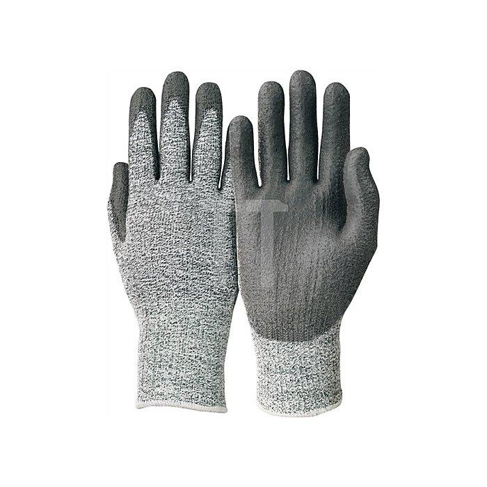 Polyurethanhandschuhe Camapur Cut 627 Gr.9 KCL grau/schwarz