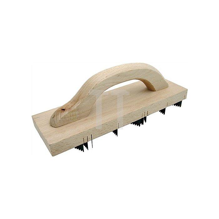 Porenbetonhobel Länge 400mm Breite 90mm 9 gezahnte Messer Jung
