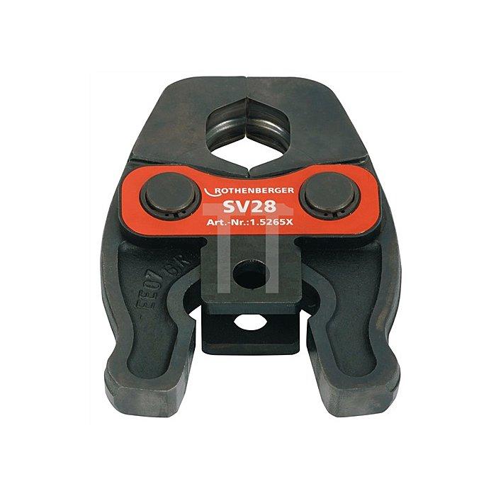 Pressbacke Compact M 28mm System V/SV Metall/NE-Metall Rothenberger