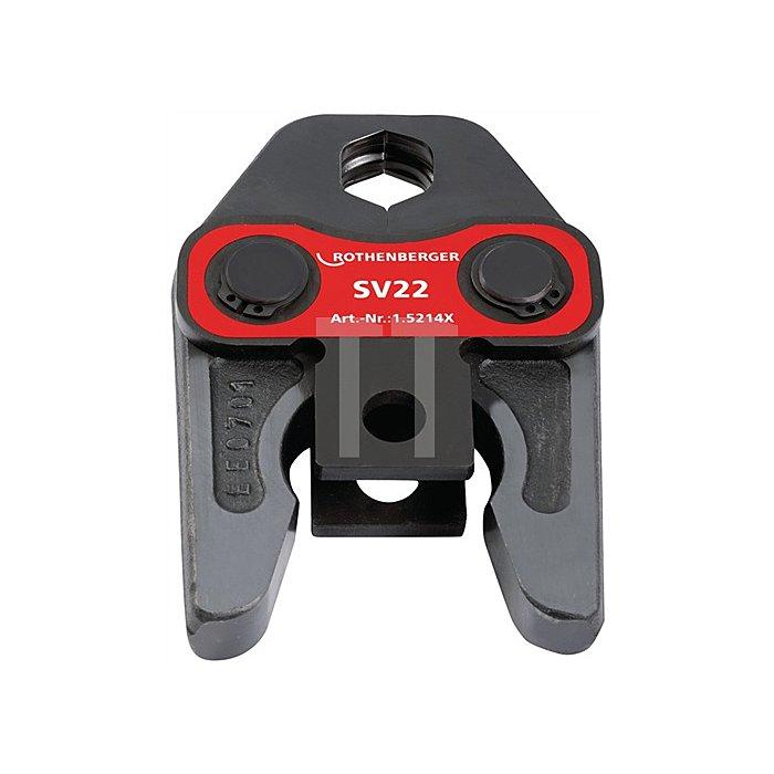 Pressbacke Standard M 42mm System V/SV Metall/NE-Metall Rothenberger