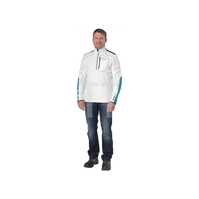 PRO Zone Helium Ski Rolli Gr.M,weiss, Microfleece