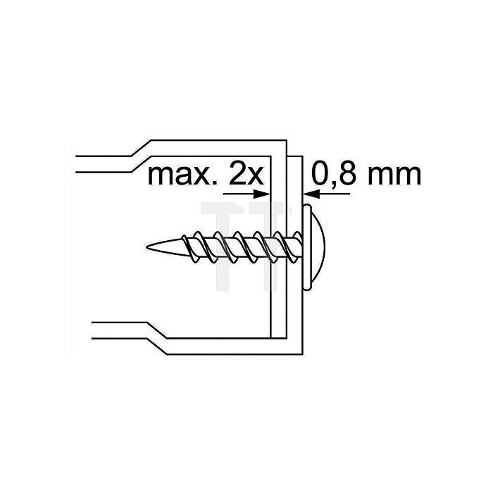 Profilverbinderschraube PVS 4,2 x 13