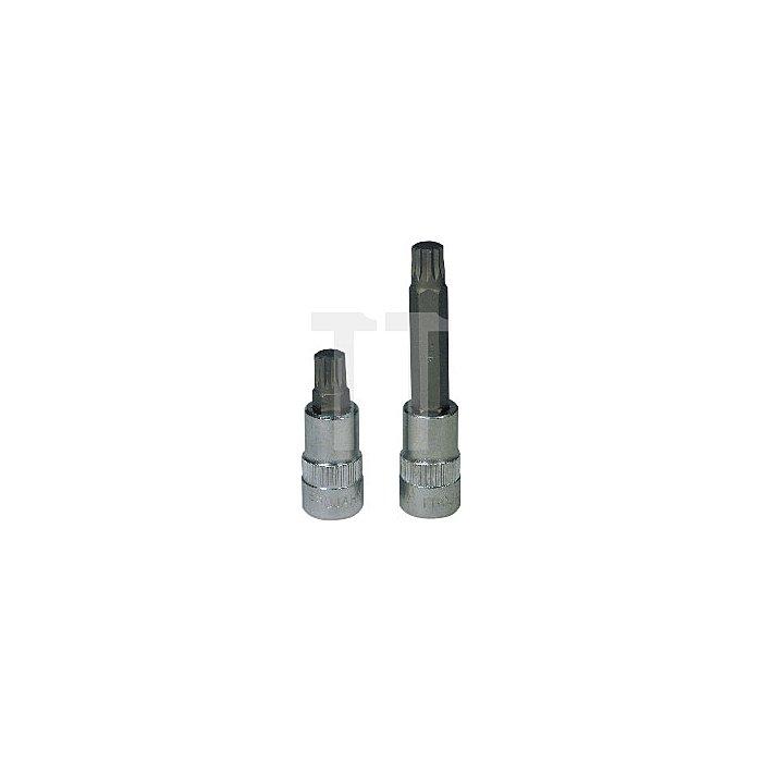Projahn 1/2 Zoll Bit Stecknuss L100mm Vielzahn M5 327105