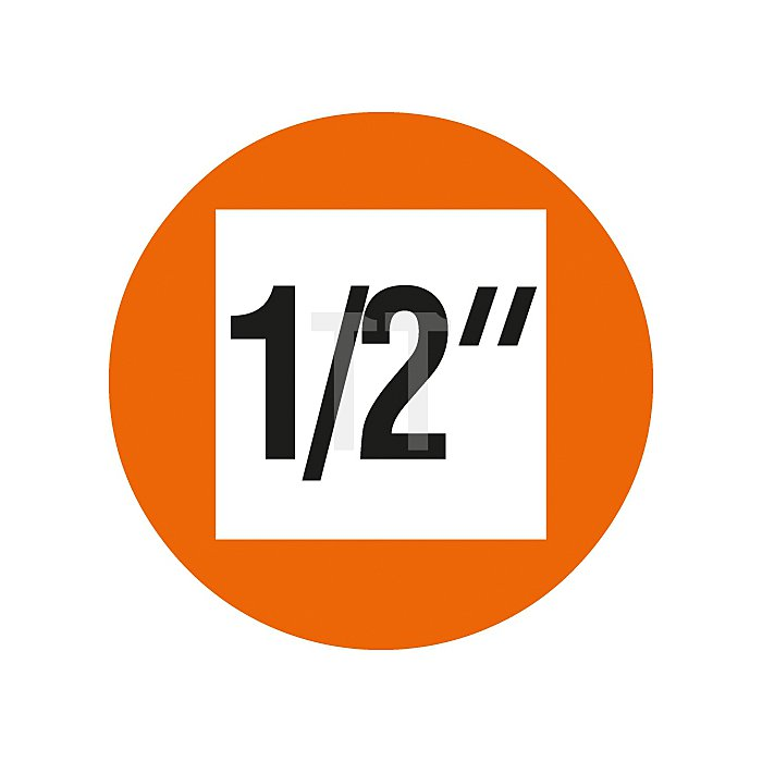 Projahn 1/2 Zoll Stecknuss 12-kant 24mm 301224