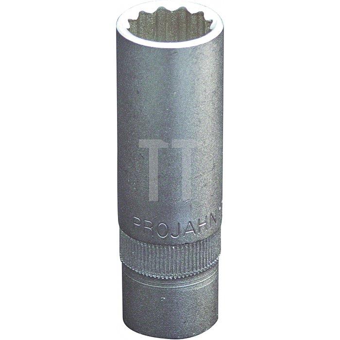 Projahn 1/2 Zoll Tiefe Stecknuss 12-kant 17mm 311217