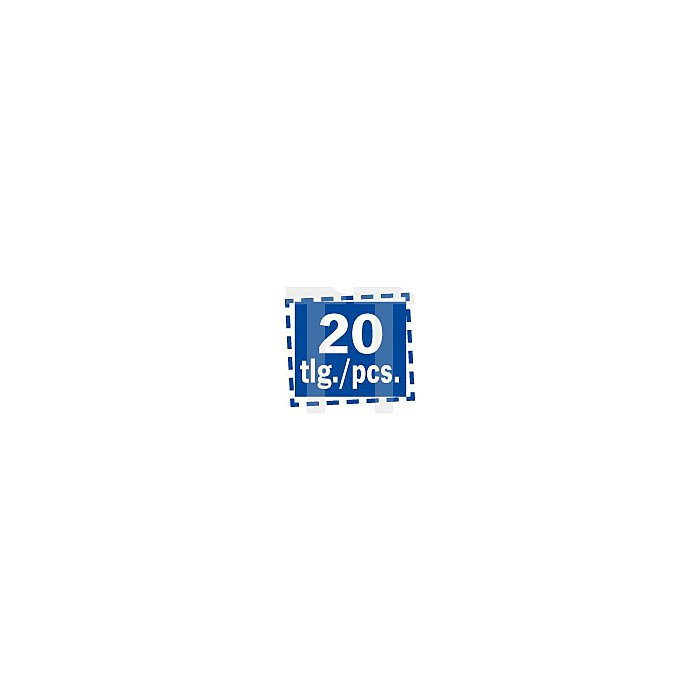 "Projahn 1/2"" Professional Steckschlüssel-Koffer 20-tlg. 3901203"