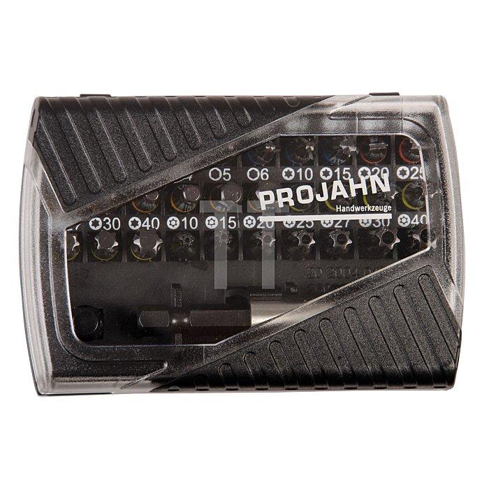 Projahn 1/4 BlackLine Bit-Box mit markierten Bits 32-tlg. 394088