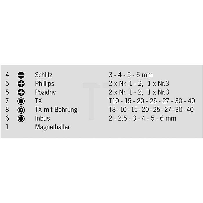 Projahn 1/4 Zoll Bit-Box 36-tlg. 75mm 3788