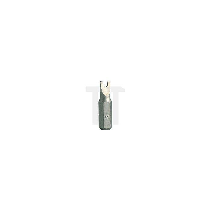 Projahn 1/4 Zoll Bit L25mm Spanner 4mm 2665