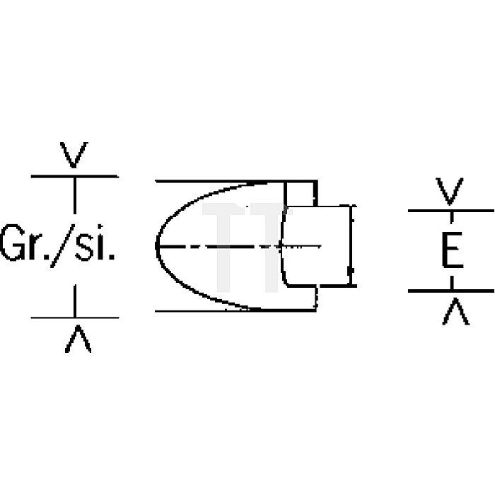 Projahn 1/4 Zoll Bit L25mm Spanner 6mm 2667