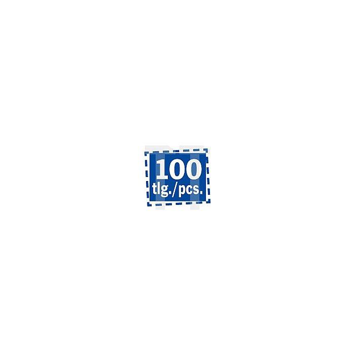 Projahn 1/4 Zoll Bit L25mm TX T10 100er Pack 2731-100
