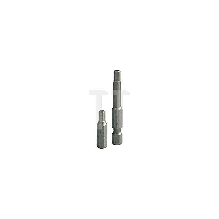Projahn 1/4 Zoll Bit L50mm Innen-6-kant 6mm 2844