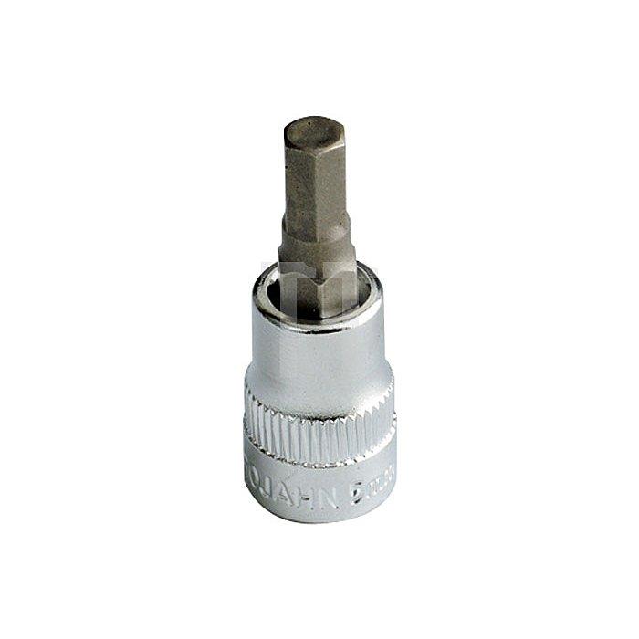Projahn 1/4 Zoll Bit Stecknuss Innen-6-kant 6mm 106006