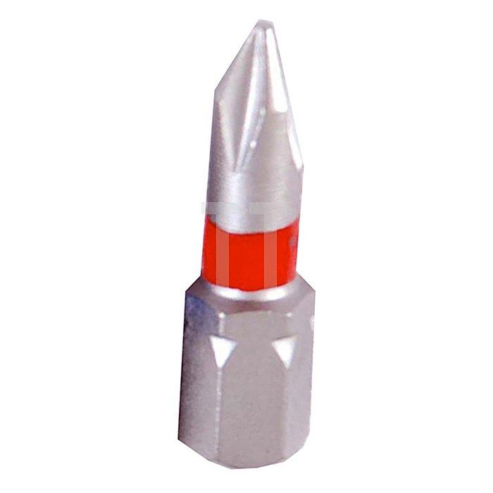 Projahn 1/4 Zoll markierter Bit L25mm Phillips Nr.2 10er Pack 1702-10