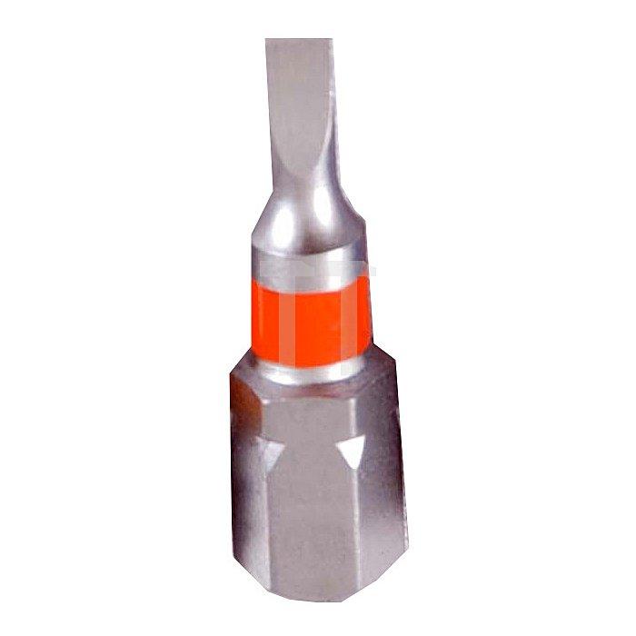 Projahn 1/4 Zoll markierter Bit L25mm Schlitz 4mm 3er Pack 1722-03