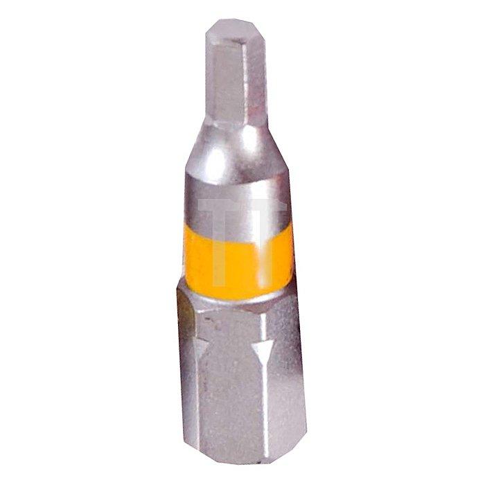 Projahn 1/4 Zoll markierter Bit L75mm Innen-6-kant 3mm 3er Pack 1841-03