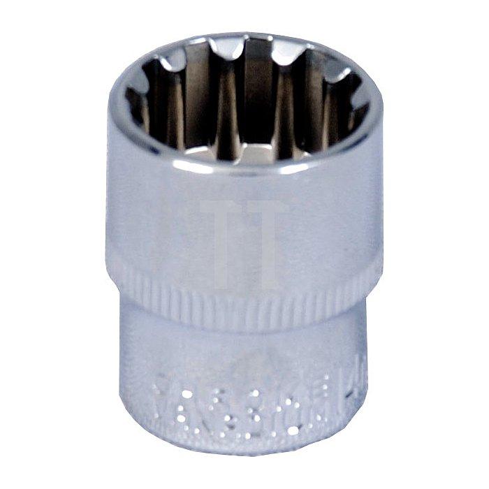 Projahn 1/4 Zoll MultiFit Stecknuss 45mm 8601-045