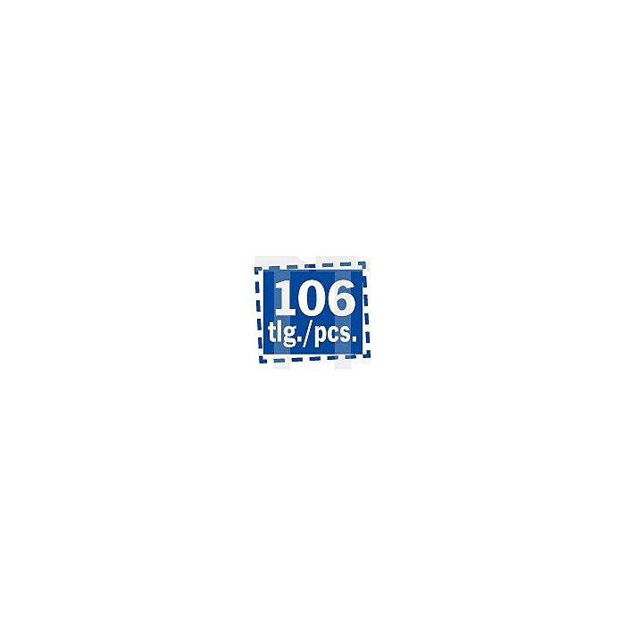 Projahn 1/4 Zoll proficraft Werkzeugtasche 106-tlg. 8686