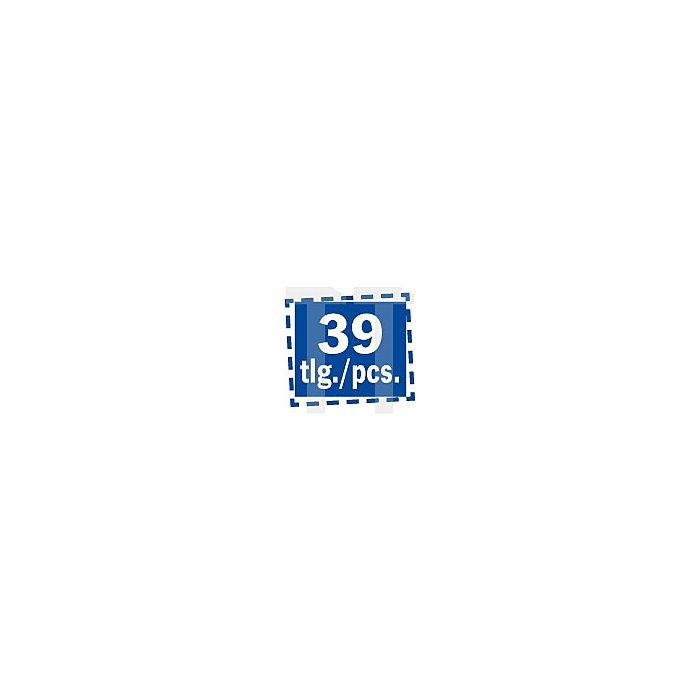 Projahn 1/4 Zoll Steckschlüssel-Satz 39-tlg. 4005