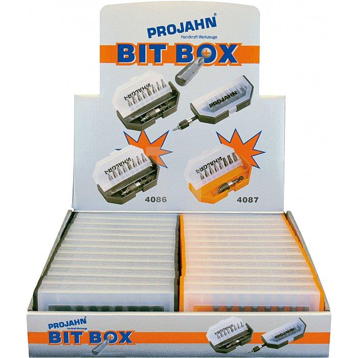 Projahn 1/4 Zoll TASCHEN Bit-Box 10-tlg. TOP-Class 4086