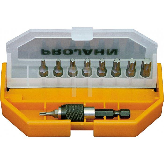 Projahn 1/4 Zoll TX TASCHEN Bit-Box 10-tlg. TOP-Class 4087