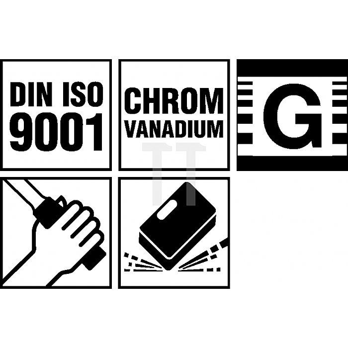"""Projahn 1/4"""" + 3/8"""" + 1/2"""" Professional Universal Werkzeugkoffer 122-tlg. 39048201"""