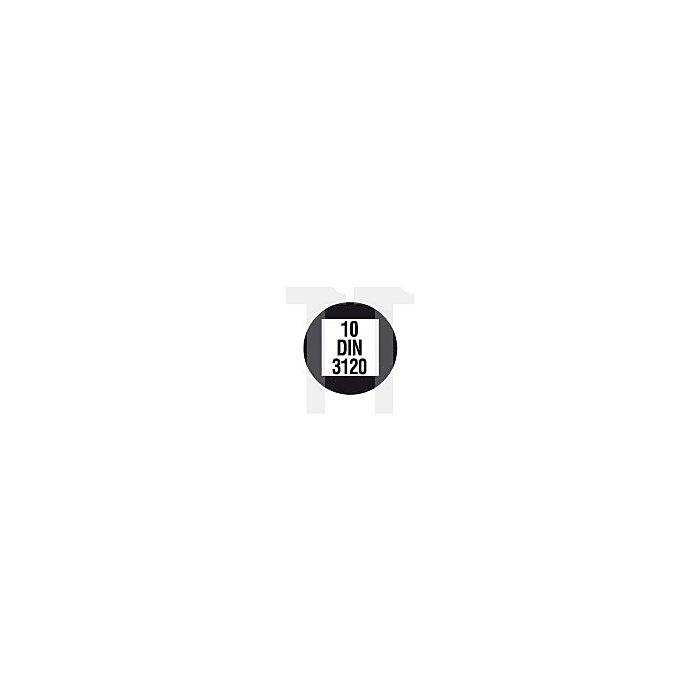 Projahn 3/8 Zoll Stecknuss-Satz auf Schiene 12-tlg. Tiefe Nüsse 4212