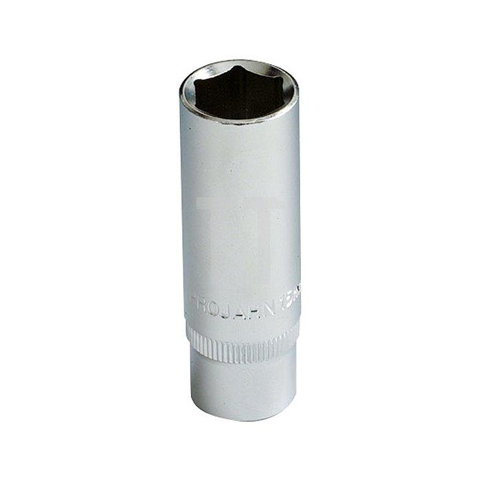 Projahn 3/8 Zoll Tiefe Stecknuss 6-kant 15mm 201150
