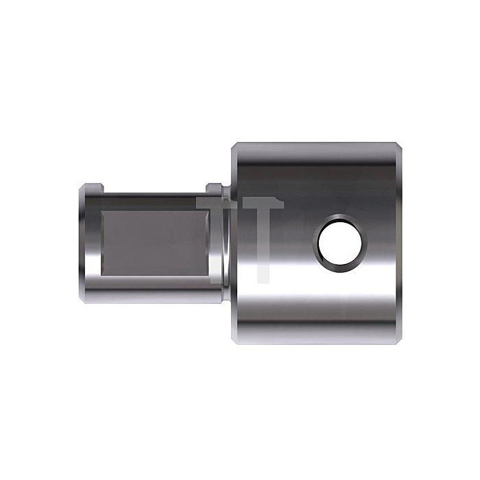 Projahn Adapter mit Quick-In-Schaft für Fein Kernbohrer mit Weldonschaft 19mm inkl. Auswerferstift 38505002
