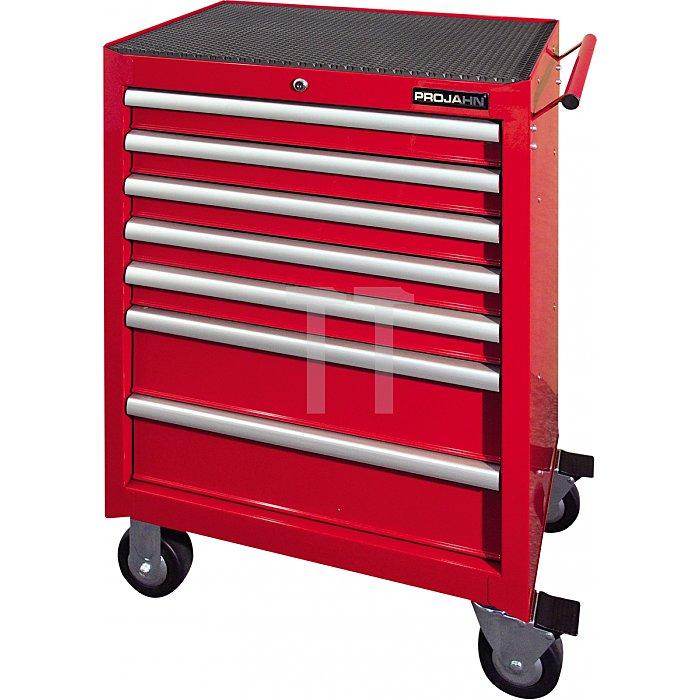 Projahn Bestückter Werkstattwagen RedLine mit 7 Schubladen 230-tlg. 5901-142