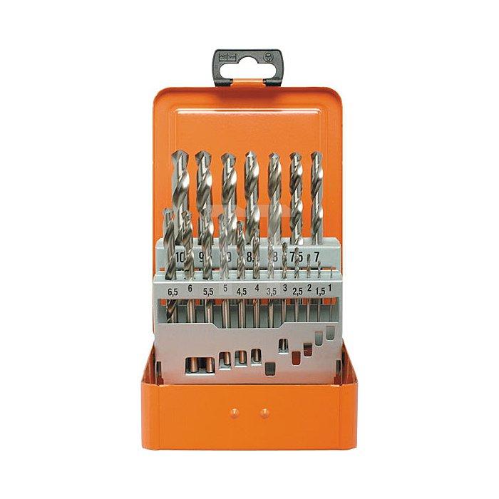 Projahn Bohrerkassette HSS-G 19-tlg. 1-10/05mm ECO 60315