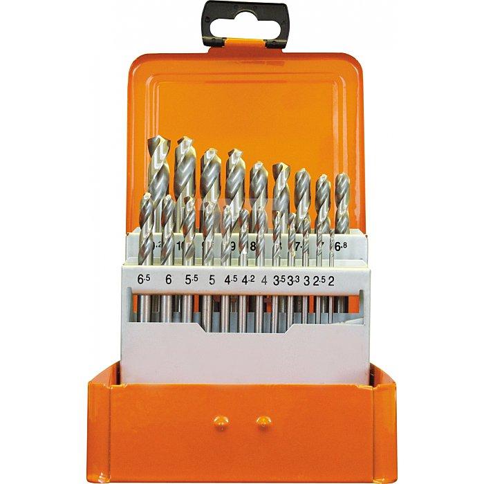 Projahn Bohrerkassette HSS-G DIN1897 21-tlg. 2-102/05mm 60840