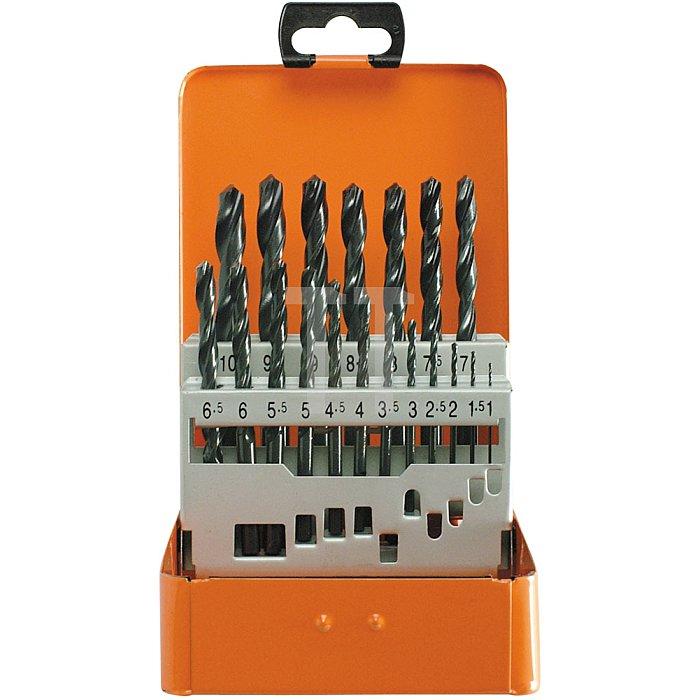 Projahn Bohrerkassette HSS-R 19-tlg. 1-10/05mm ECO 60001