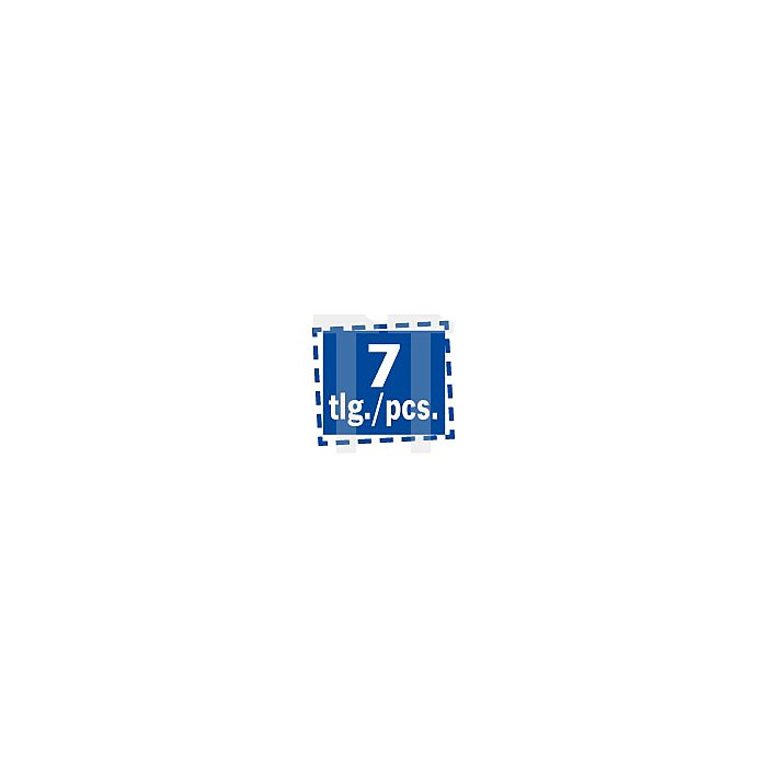 Projahn Bohrerkassette ZENTRO PLUS 7-tlg. 5 - 12mm in ABS MAMBO-Box 83744