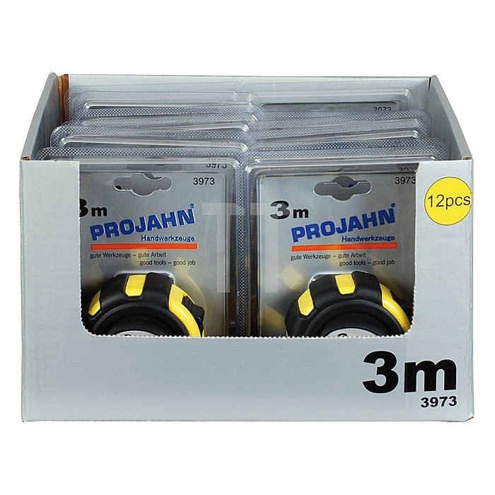 Projahn Display mit 12x 3973 Rollmeter 3m 397312