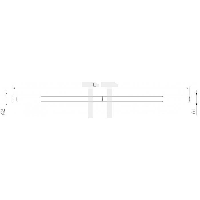 Projahn Doppelgabelschlüssel 21 x 23mm 252123