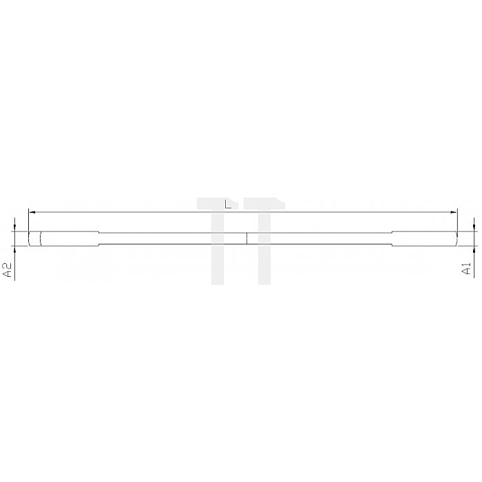 Projahn Doppelgabelschlüssel 8 x 9mm 250809