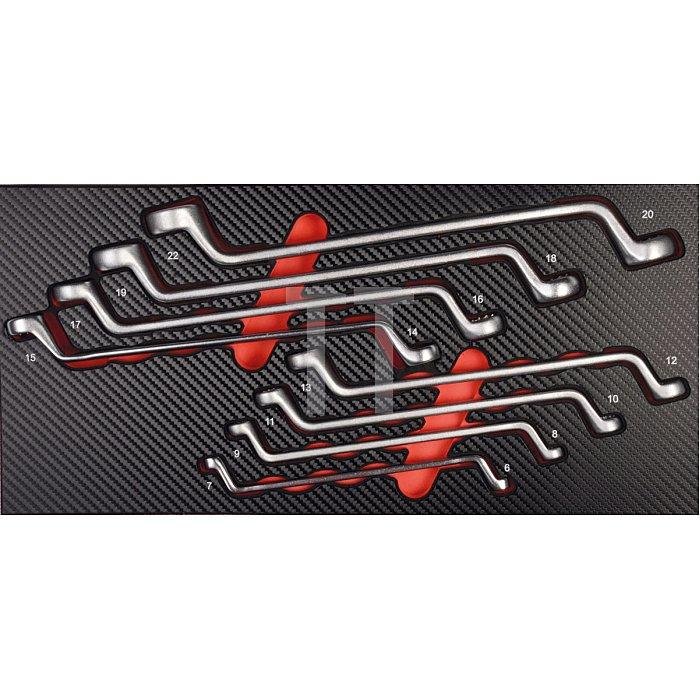 Projahn Doppelringschlüssel Einlage 8-tlg. 5999-031