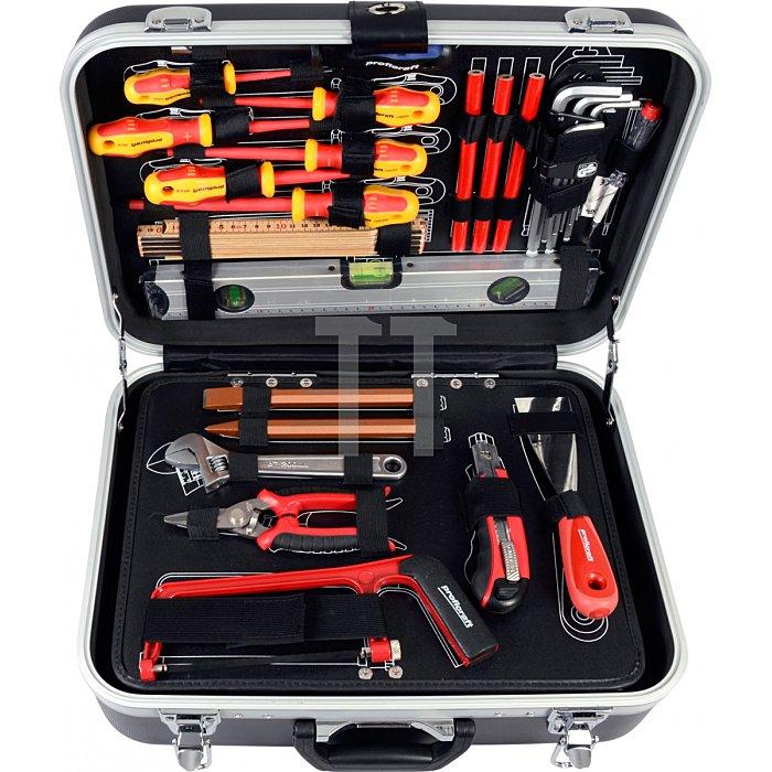 Projahn Elektro Werkzeugkoffer 128-tlg. 8683