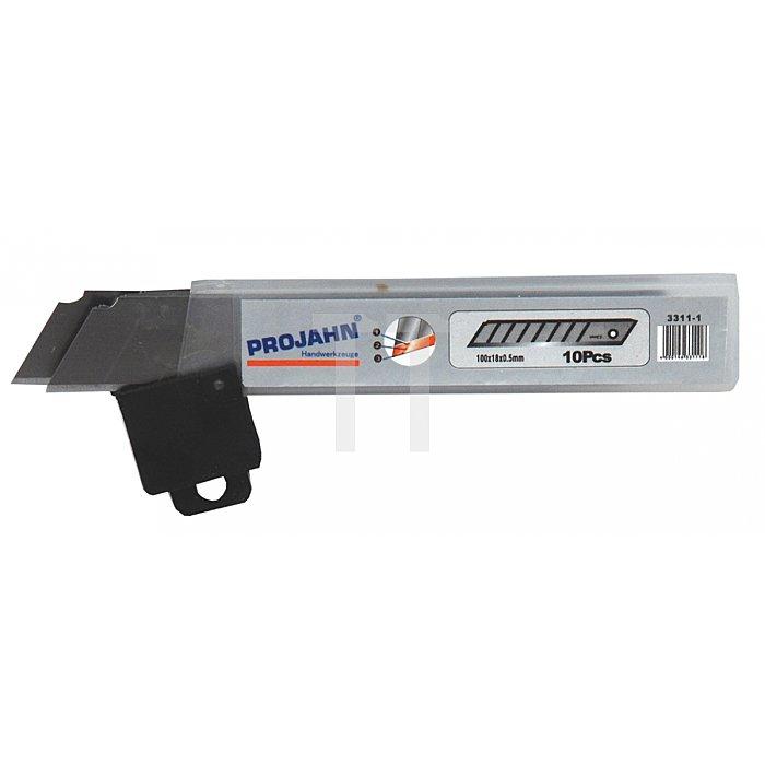 Projahn Ersatzklingen 18mm zu Cuttermesser 10-er Pack 3311-1