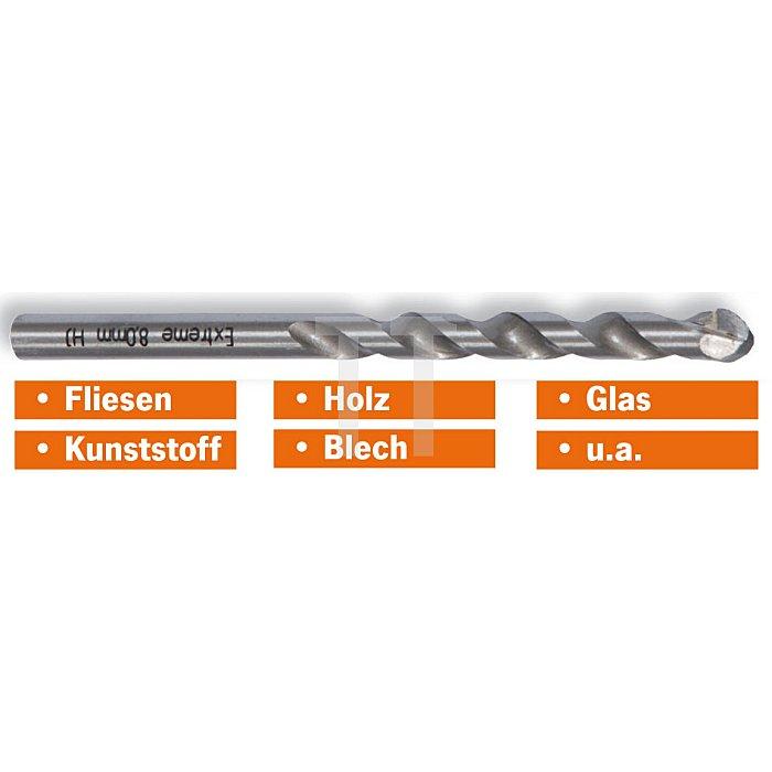 Projahn EXTREME Fliesenbohrer 70mm AL 75mm GL 125mm 597070